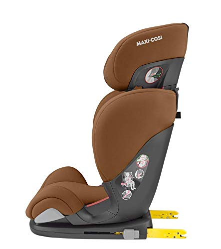 Maxi-Cosi RodiFix AirProtect Child Car Seat, Isofix Booster Seat, Cognac, 15-36 kg Maxi-Cosi Booster car seat for children from 15-36 kg (3.5 to 12 years) Grows along with your child thanks to the easy headrest and backrest adjustment from the top Patented air protect technology for extra protection of child's head 7