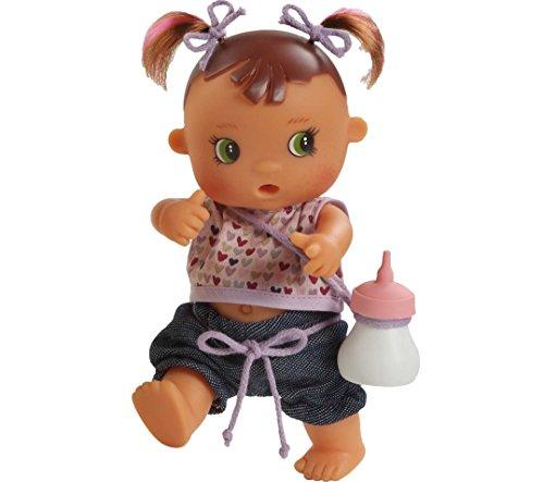 Paola Reina - 03.070 - Mini Doll - De - Collezione Babies Meones - Bevande Bottiglia e il suo made Pipi - 22 Cm