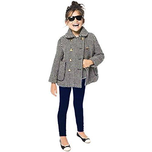 QinMM Kleinkind Kinder Mädchen Jungs Solide Bleistift Hose Warme Hose Leggings (Dunkelblau, 12M) (Tommy Hilfiger Für Kleinkind-mädchen)