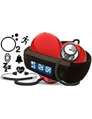 Lifepulse plus Blutdruck, Sauerstoff, Herzfrequenz, Atemfrequenz, Schlaf, Kalorien, Aktivität, Handy Lost Funktion, Kamera Fernbedienung - Daueraufzeichung. Berryking Lifepuls Version 2017 - Neuheit