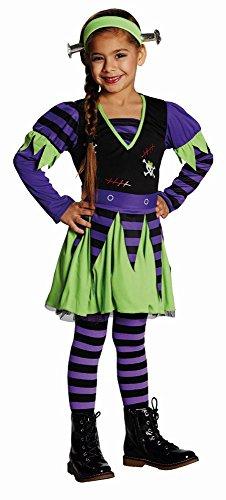 Rubie's Kinder Kostüm Funky Monster zu Karneval Fasching Halloween - Funky Hexe Kostüm
