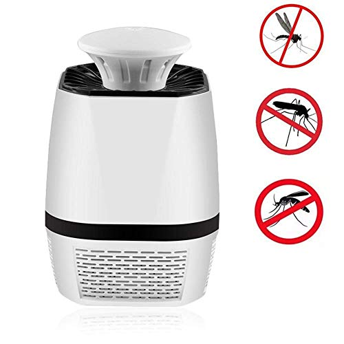 PANGMAMA Bug Zapper, Moskito-Falle Indoor Mit UV-LED-Licht Ungiftiger chemikalienfreier Dämpfer, Elektronischer Insektenvernichter für den Innenbereich -