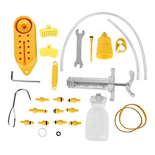 Alomejor kit de Purge de Frein Outil Professionnel de kit de Purge de Frein à Disque hydraulique de Vélo Outil de Réparation