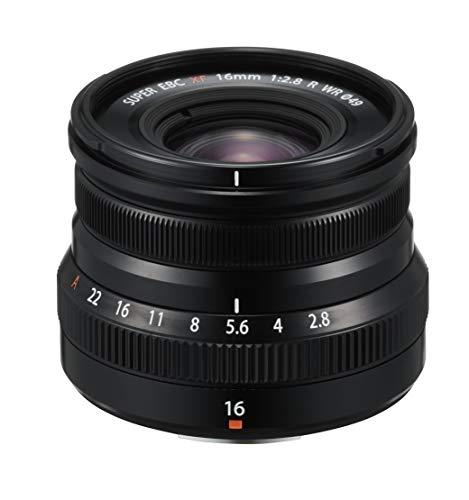 Fujifilm FUJINON XF 16 mm F2.8 R WR, Color Negro