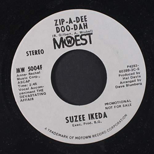 zip-a-dee doo-dah / mono 45 rpm single Rpm-zip