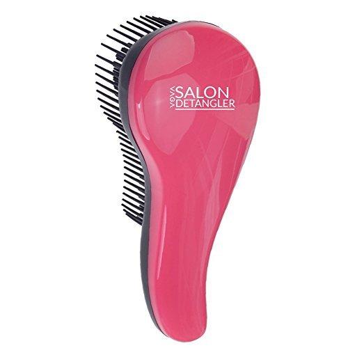 e Salon Qualität Detangling / Entwirrer / Haar Styling Bürste Durch Gleitend Anti Verfilzungen / Knoten In Pink Und Schwarz Farben Von VAGA (Detangling Haar-bürste)