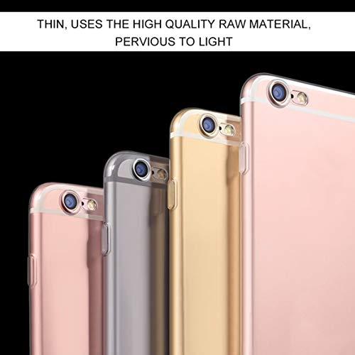 Einzigartige dauerhafte leichte transparente TPU Silikon-Kasten-Abdeckungs-Haut für Apple für iPhone 6/4.7 schickes klassisches annehmbares