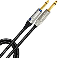 "8/' Mogami 2524 Instrument Cable Neutrik Gold 1//4/"" TS 1//4/"" 90 Silent TS Black"