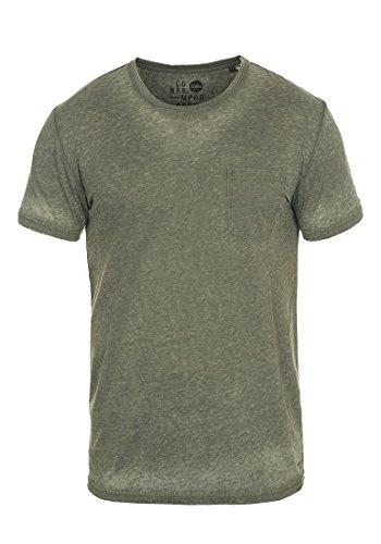 !Solid Toke Herren T-Shirt Kurzarm Shirt mit Rundhalsausschnitt, Größe:M, Farbe:Climb Ivy (3785) -