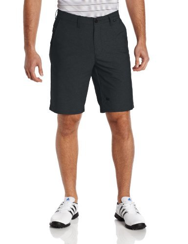 Travis Mathew Men's Hefner Golf Shorts, Black, 32 by Travis Mathew (Travis Golf Mathew)