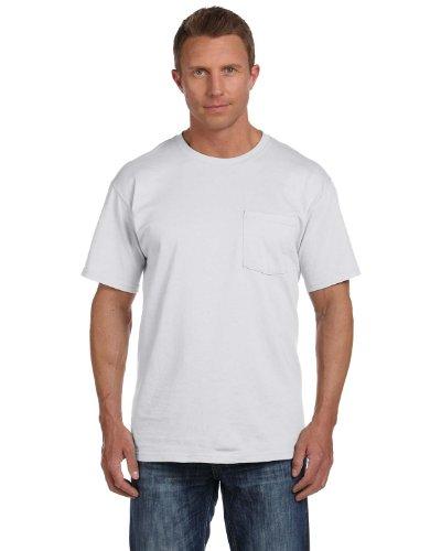 Fruit of the Loom T-Shirt Baumwolle mit 3931P Grau - Ash