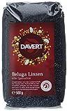 Davert Beluga Linsen schwarz, 2er Pack (2 x 500 g) - Bio