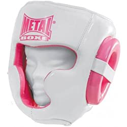 Metal Boxe Casco, color rosa