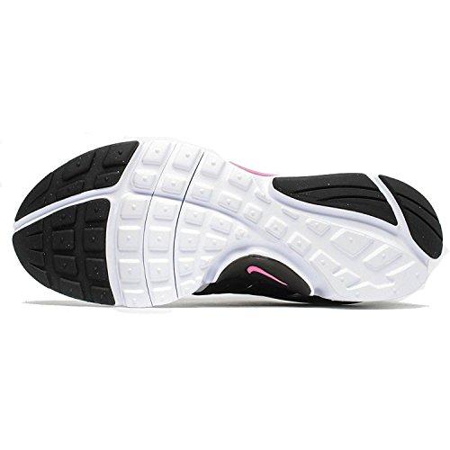 Nike Presto (Gs), Chaussures de Sport Fille Blanc Cassé - Blanco (Blanco (White / Pink Blast-Black))