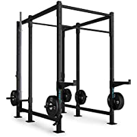 CAPITAL SPORTS Dominate Edition Set 12 Basis Rack musculación Rig (Safety  spotter 98b7fe57c7bf