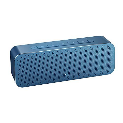 luetooth Lautsprecher mit Super Bass Wireless Lautsprecher Bluetooth4.2 3D Digital Boombox Sound Lautsprecherblau ()