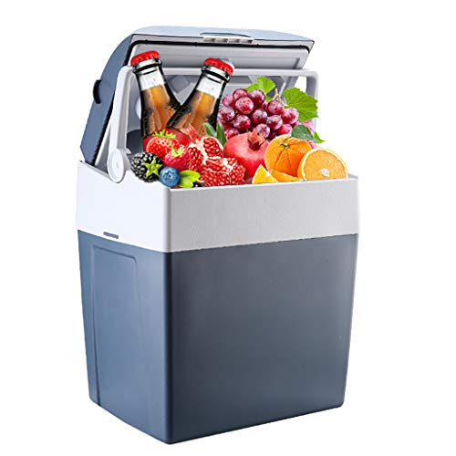 Car Refrigerator 30L Auto KüHlschrank Elektronische KüHlbox Mini KüHlschrank Kleiner KüHlschrank Schlafsaal KüHlschrank - Blau