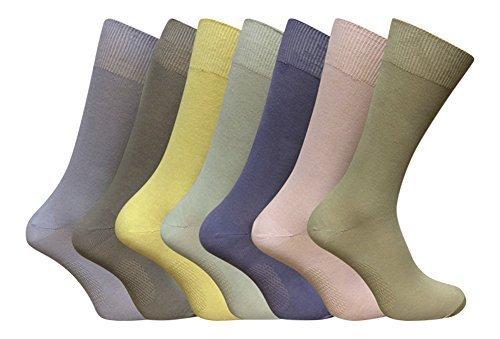 fresh-feet-7-comparte-unos-calcetines-de-hombre-jean-antibacteriano-coloreado-en-3-tamanos-39-41-eur
