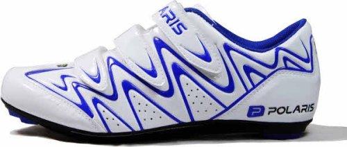 Polaris , Chaussures de cyclisme pour homme Blanc - White/Blue