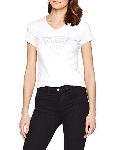 Guess ICON T-Shirts & Poloshirts Damen Weiss - XS - T-Shirts