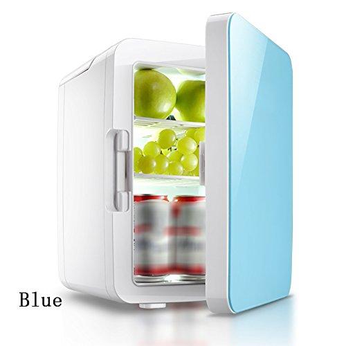 FJW 12V Tragbarer Auto-Kühlschrank 10L Mini Heimgebrauch Autobenutzung Kühler Kühlschrank Essens Wärmer Halbleiter - Für Rack Gefrierschrank Metall