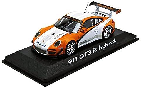 Mini Champs - 0201170c - Véhicule Miniature - Modèles À L'échelle - Porsche 911/997 Gt3 R Hybrid - 2011 - Echelle