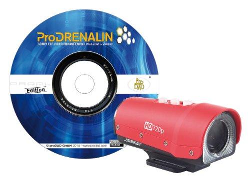Somikon Mini Sport Cam: HD-Action-Cam DV-78.night mit Spezial-Software ProDRENALIN (Helmkamera)