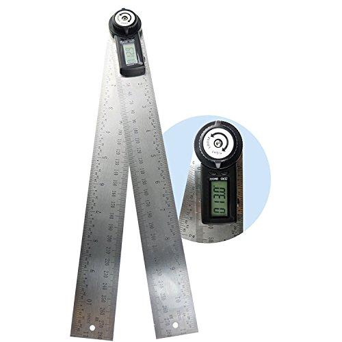 360Grad 600mm Digital Winkel Lineal Winkel Gauge Finder Meter Winkelmesser