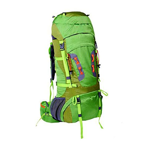 Wasserdicht Bergsteigen Reiten Bewegung Große Kapazität Tasche Rucksack Blue