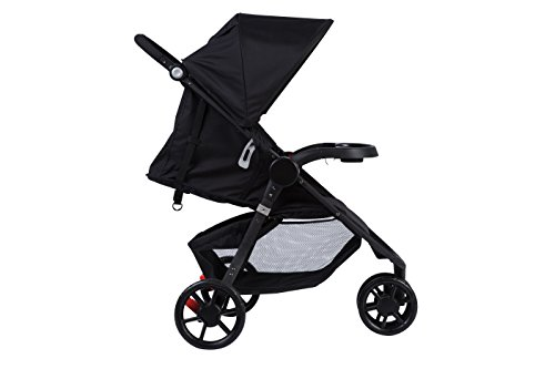 Safety 1st - Poussette 3 roues Urban Trek Multi-positions - Full Black