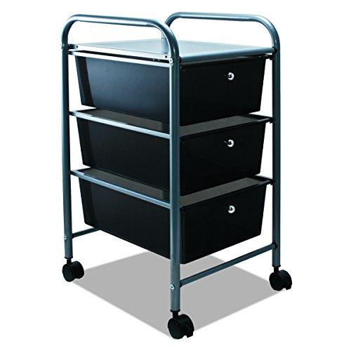 Advantus Storage Studios Home Center Rolling Cart W/3 Drawers-15.25