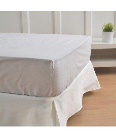 10xDiez - Rivestimento per divano-letto, colore bianco sporco 150 cm