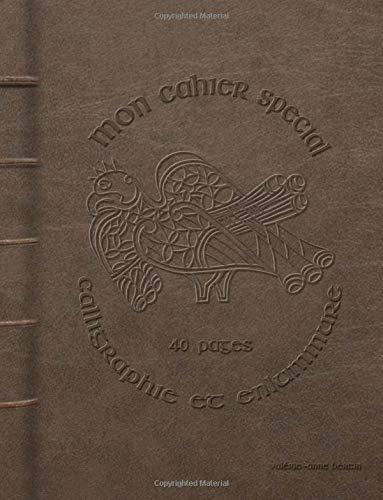Mon cahier spécial calligraphie et enluminure par Valérie-Anne Bertin