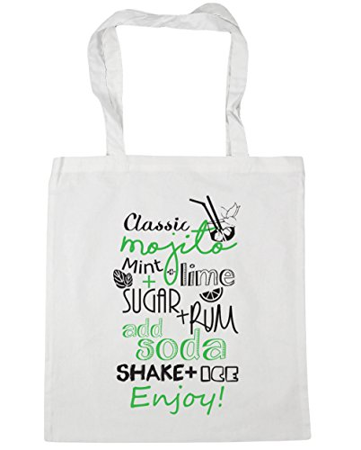 Hippowarehouse ,  Damen Strandtasche Weiß