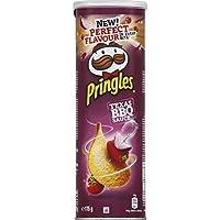 Pringles Biscuits apéritif Texas BBQ sauce La boite de 175g - Prix Unitaire - Livraison Gratuit Sous 3 Jours
