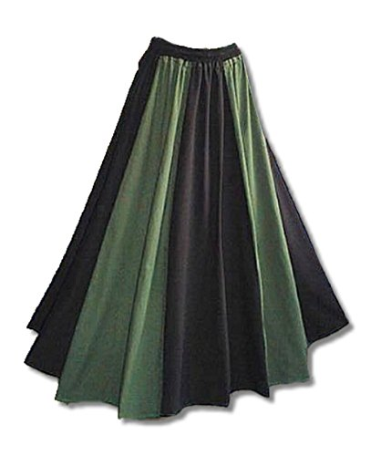 Inter Moden Mittelalter Marktrock - Damen Madelaine schwarz / - 60 S Ära Kostüm