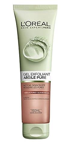 L'Oréal Paris Gel Exfoliant Visage Argile Pure 150