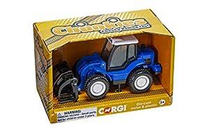 Corgi CH083 Chunkies Loader Tractor Farm, Color Azul