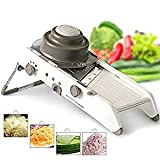 Mandoline Slicing System with no Removable Blades Professional Cubing