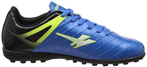 Gola Talos Vx, Scarpe da Calcio Bambino Blu (Pro Blue/black/volt)