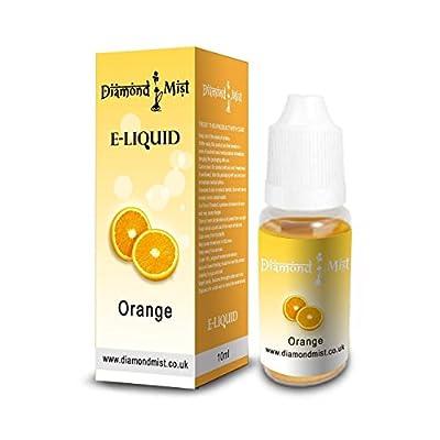 Diamond Mist 10 ml Orange E-Liquid by Diamond Mist