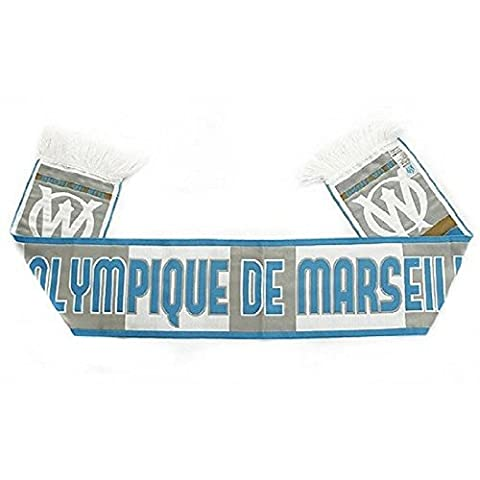 Olympique de Marseille - Echarpe - Om - Taille Taille unique - Blanc