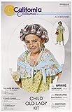 California Costumes Alte Oma Kind Kostüm old lady kit