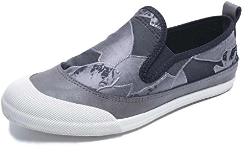 LIUXUEPING Hombre Zapatos De Lona Temporada De Verano Nuevo Zapatos Perezosos Versión Coreana Zapatos De Marea  -