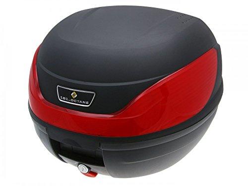 Top Case Koffer schwarz 32L mit Universalhalterung für Roller, Moped, Motorrad