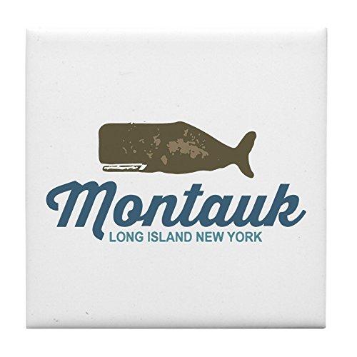 CafePress–Montauk–Long Island.–Tile Untersetzer, Drink Untersetzer, Untersetzer, Klein