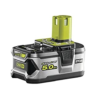 Ryobi RB18L50 ONE+ Lithium+ 5.0Ah Battery, 18 V
