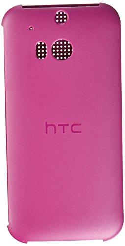 HTC Dot View Schutzhülle für HTC One M8 (Einzelhandelsverpackung) Baton Rouge (One Dot Htc View M8 Case)