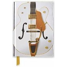 Gretsch White Falcon Guitar: Foiled Pocket Journal