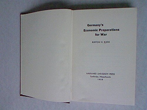 germanys-economic-preparations-for-war-economic-studies
